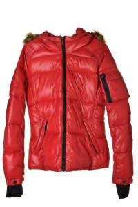 Fontana 2.0 Gaia Rosso piros női kabát – 42 IT 31384661 Női kabát, dzseki