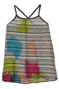 Boboli színes mintás, spagetti pántos lány ruha – 104 31384899 Kislány ruha
