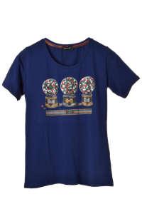Armonie női Póló - Hógömbös #sötétkék 31384996 Női póló