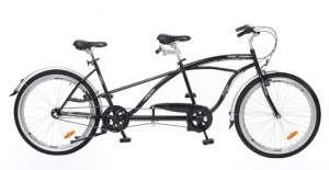Neuzer Twilight Tandem Kerékpár #fekete-ezüst 31387819 Tandem kerékpár