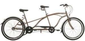 Neuzer Twilight Tandem Kerékpár #barna-ezüst 31387821 Tandem kerékpár