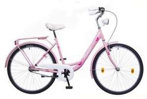 """Neuzer Balaton 26 Plus női Városi Kerékpár 26"""" #rózsaszín 31387872 Női kerékpár"""