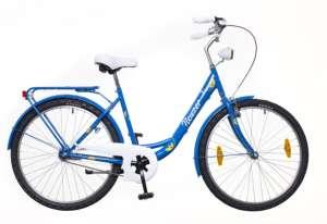 """Neuzer Balaton 26 Plus női Városi Kerékpár 26"""" #kék-fehér"""