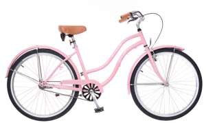 """Neuzer Beach Női Kerékpár 26"""" #rózsaszín"""