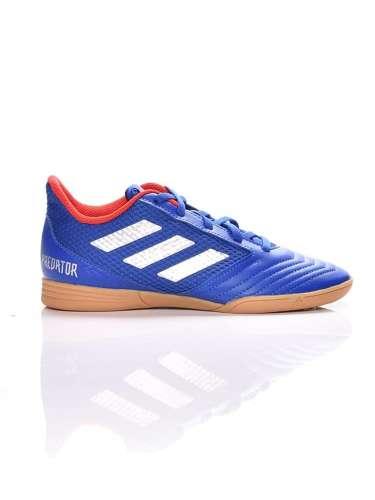 Adidas Performance Predator 19.4 In J fiú Foci cipő #kék