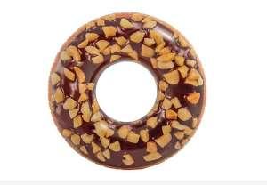 Intex Donut felfújható Úszógumi - Fánk #barna (56262NP)