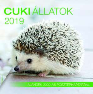 2019 naptár: Cuki állatok 31396182 Naptár