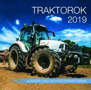 2019 naptár: Traktorok 31396211 Naptár