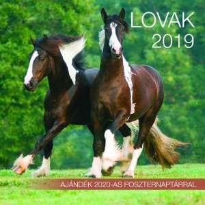 2019 naptár: Lovak 31396370 Könyvek