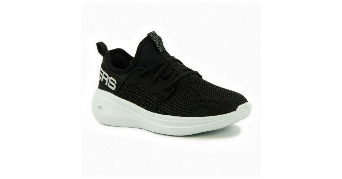 Skechers női Utcai cipő #fekete fehér   Pepita.hu