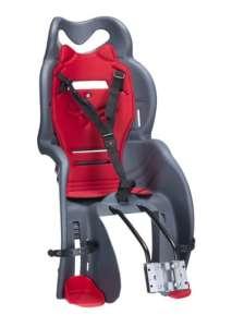 HTP Sanbas Gyerekülés kerékpárra #szürke-piros