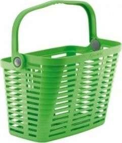 Bellelli Plaza műanyag bicikli Kosár #zöld