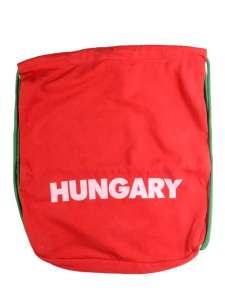 Dorko Hungary Tornazsák - Feliratos #piros 31407598 Tornazsák, sporttáska