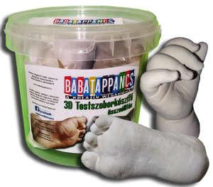 2 szobros kéz és lábszobor készítő összeállítás- GYERMEK méret - BabaTappancs 31411053 Lenyomatkészítő