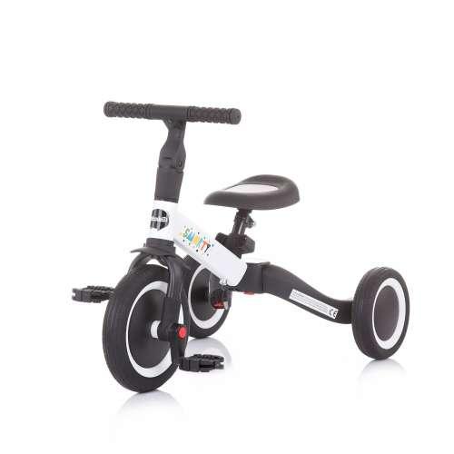 Chipolino Smarty 2in1 Tricikli és futóbicikli #fehér-fekete