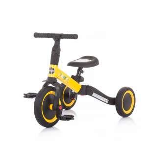 Chipolino Smarty 2in1 Tricikli és futóbicikli #sárga-fekete 31415330 Tricikli