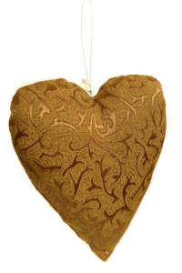 Párna - Szív #arany 31415546 Ágyneműk