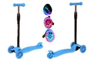Edi háromkerekű világító Roller #kék 31433892 Roller és gördeszka