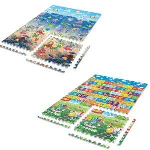 Aga nagyméretű Szivacs puzzle - Óceán és Betűk - B