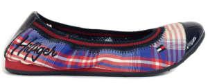 Tommy Hilfiger lány Utcai cipő - Kockás #kék-piros 31418076 Utcai - sport gyerekcipő