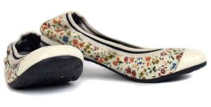 Tommy Hilfiger balerina lány Utcai cipő - Virág #fehér 31418078 Utcai - sport gyerekcipő