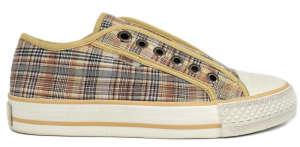 S.Oliver fiú Utcai cipő - Kockás #barna 31418105 Utcai - sport gyerekcipő
