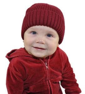 H&M fiú kötött Sapka #bordó 31418201 Gyerek sapka, szett
