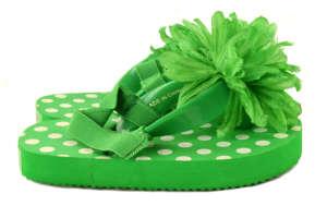 Papucs gyerek #zöld 31418337 Szivacs