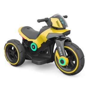 Baby Mix 3 kerekű Elektromos motor hang-és fényeffekttel - Police #sárga