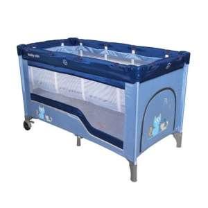 Baby Mix Comfort Plus Utazóágy - Cica #kék 31420672 Utazóágy