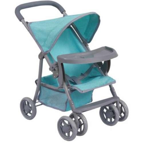 Baby Mix játék Babakocsi tálcával #kék
