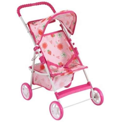 Baby Mix játék Babakocsi #rózsaszín