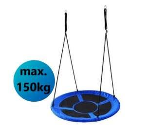 Ecotoys Play acélvázas Fészekhinta 100cm #kék