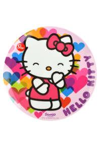 Tányér - Hello Kitty 31426701 Gyerek tányér, evőeszköz, étkészlet