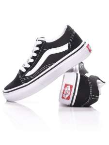 Vans Ua Old Skool fiú Utcai cipő #fekete-fehér 31428360 Vans Utcai - sport gyerekcipő