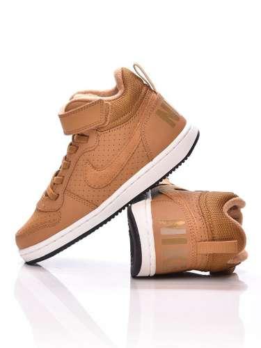 Nike Boys Nike Court Borough Mid (Ps) gyerek Magasszárú cipő