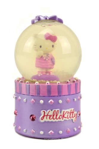 Hógömb - Hello Kitty #lila 31428962