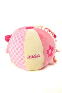 Kikibell Csörgős plüss labda #rózsaszín 31431477 Rágóka, csörgő