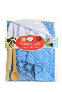 Toi-toys szakács felszerelés kiegészítőkkel #kék 31431522 Babakonyha / Játékkonyha