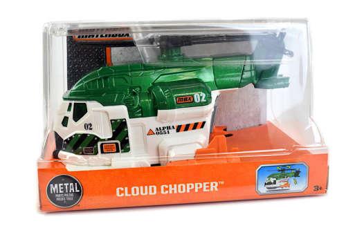 Mattel Matchbox Cloud Chopper helikopter