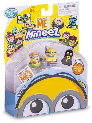 Mineez Despicable Me 3 figura csomag 3db