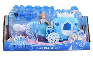 Toi- toys Ice Princess lovaskocsi és hercegnő baba 31431586 Baba
