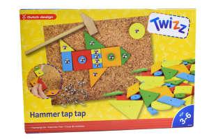 Twizz Hammer tap tap kalapácsos, geometria játék 31431615 Fejlesztő játék ovisoknak