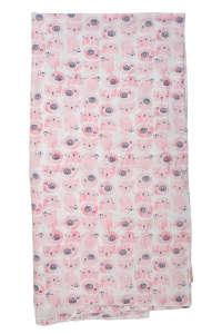 Boboli baba Lepedő 105x110cm #rózsaszín 31431890 Ágyneműk