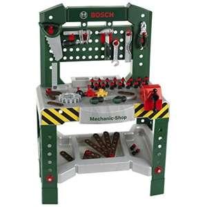 Klein Toys: Bosch szerelő asztal kiegészítőkkel 31433384 Barkácsolás
