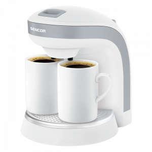 Sencor SCE 2001WH kávéfőző, 2 db ajándék bögrével 31435040 Kávéfőző és teafőző