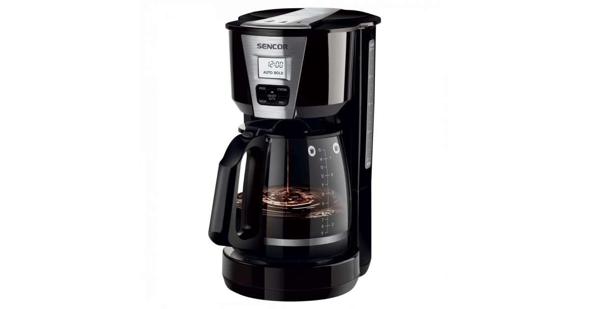 Sencor SCE 5070BK Filteres kávé és teafőző 1000 W #fekete