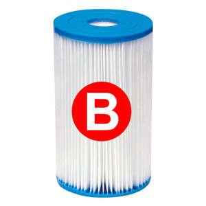 """INTEX """"B"""" tipusú szűrő patron (29005) 31435915 Medence takaró, szűrő, vegyszer"""