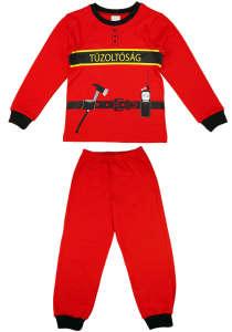 """Tűzoltós 2 részes fiú pizsama 31436373 A Pepitán ezt is megtalálod: """"sam a tűzoltó"""" 15 kategóriában"""