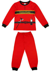 """Tűzoltós 2 részes fiú pizsama 31436379 A Pepitán ezt is megtalálod: """"sam a tűzoltó"""" 15 kategóriában"""